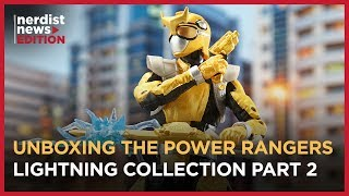 Unboxing the Power Rangers Lightning Collection Wave 2