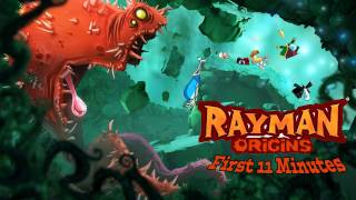 Rayman Origins - first 11 minutes on PS3