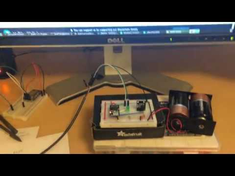 ESP8266 IoT device on Ethereum Blockchain OpenWrt MIPS Wifi Node