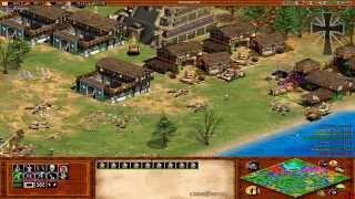 Age of Empires II - 104ª Partida Multijugador En Línea - Exe, Gena, Germán y Fede