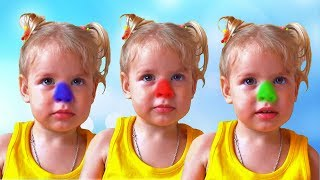 Learn Colors with M&M JOHNY JOHNY YES PAPA Nursery Rhymes and Kids Songs for Children and Toddlers