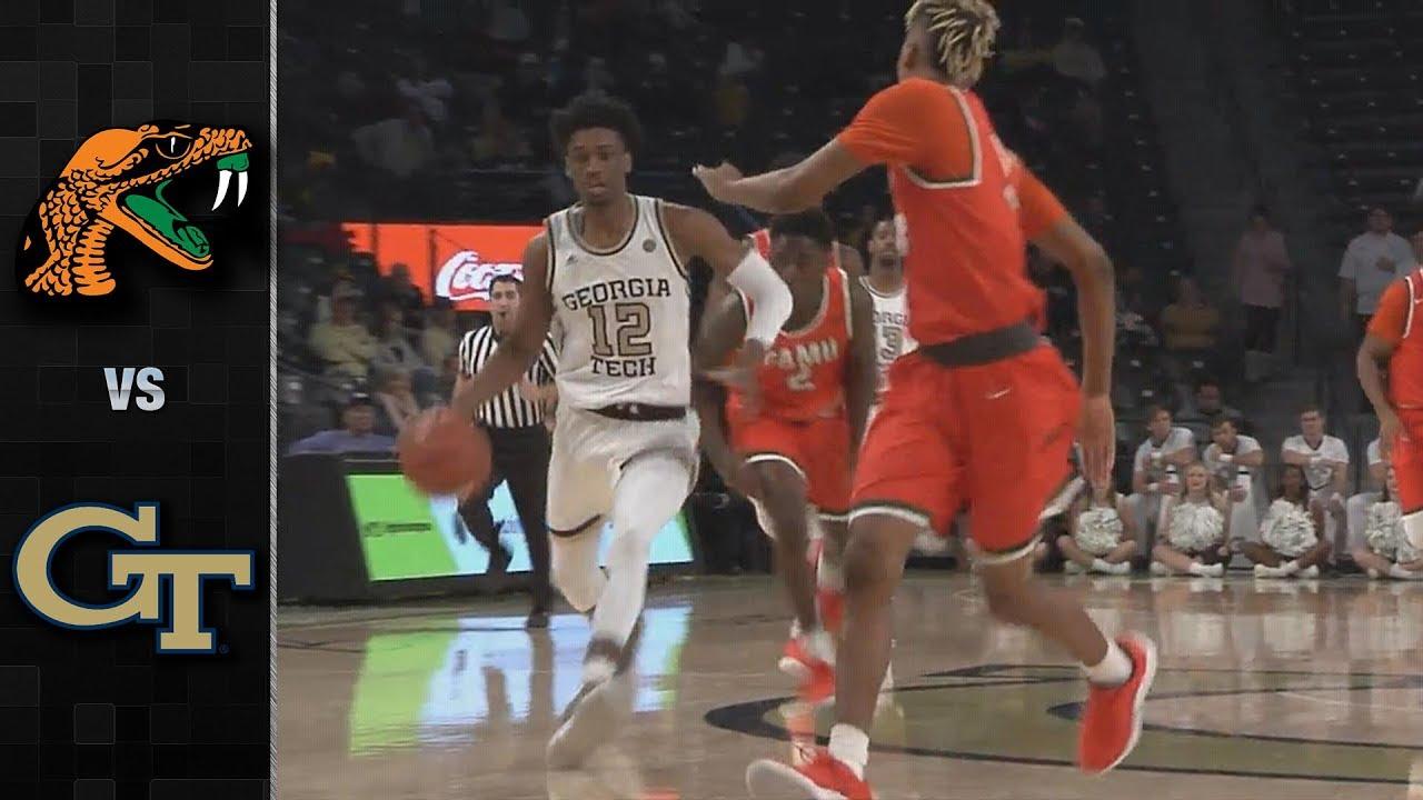 florida-a-vs-georgia-tech-basketball-highlights-2018-19