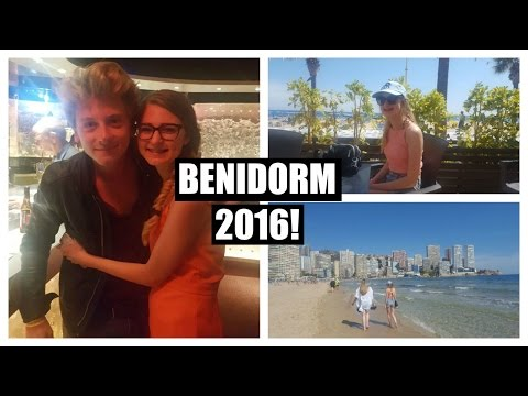 Benidorm 2016 & Meeting The Cast! | Floral Brunette