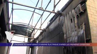Yvelines | L'incendie du SIAAP serait d'origine électrique d'après les premières expertises