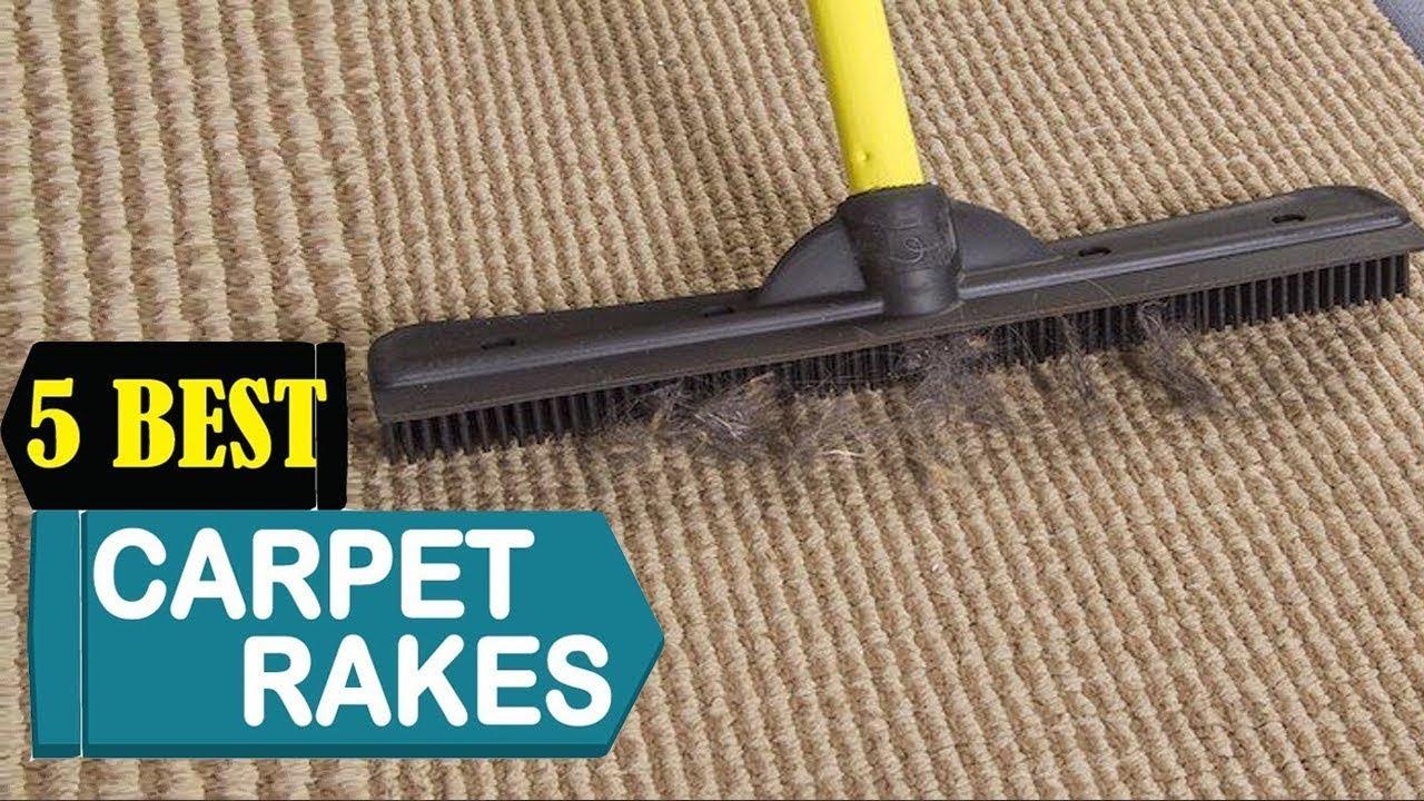 Best Carpet Rake 2021 Top 5 Carpet Rakes Reviews Youtube