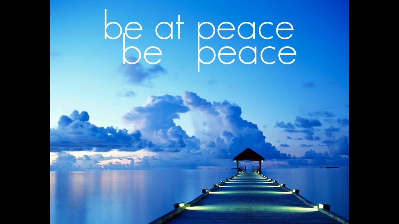 Tapping into Peace