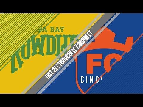 2017 #USLPLAYOFFS - Tampa Bay Rowdies vs FC Cincinnati 10/21/17