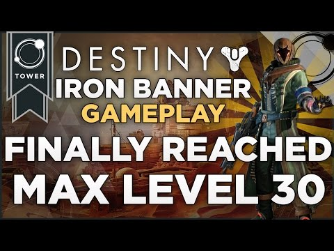 Destiny max level 30 warlock iron banner gameplay and the return of
