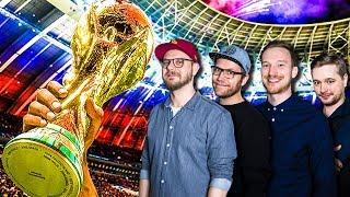 Das kleine FIFA 18 WM-Turnier mit Etienne, Nils, Lars & Marco