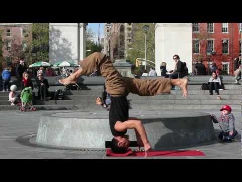 Simon Park - be present Allstar Freestyle Yoga in NYC