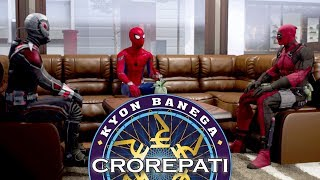 Kaun Banega Crorepati Spoof | Deadpool, Ant-Man & Spider-Man in KBC | Hindi Comedy Pakau TV Channel