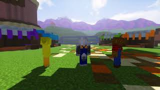 MINECRAFT FARMYARD PALS - TIME TO BUILD (Minecraft Roleplay Animation)