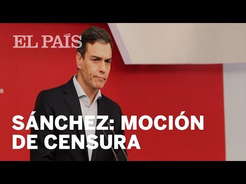 TRAMA GÜRTEL: Pedro Sánchez anuncia una MOCIÓN DE CENSURA a Mariano Rajoy
