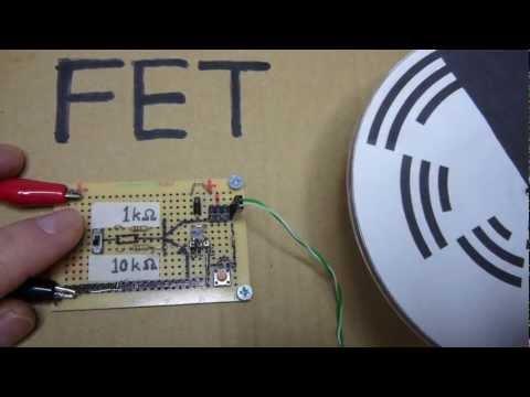 FETをスイッチングしてモーターを動かすテスト01