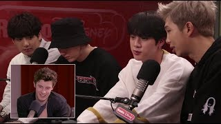 Shawn Mendes Reacts to BTS | Radio Disney