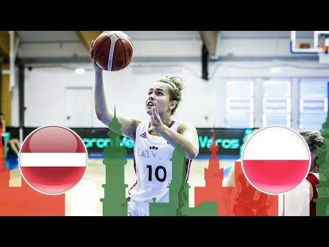 Latvia v Poland - Full Game - Class. 11-12 - FIBA U20 Women