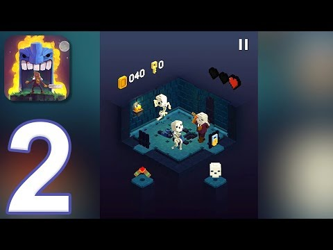 Tiny Tomb: Dungeon Explorer - Gameplay Walkthrough Part 2 (iOS, Android)