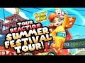 Gambar cover Summer Festival Tour REACTION in Mario Kart Tour!