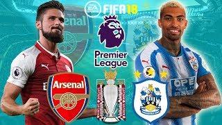 FIFA 18 | Arsenal vs Huddersfield | Premier League 2017/18 | Prediction Gameplay