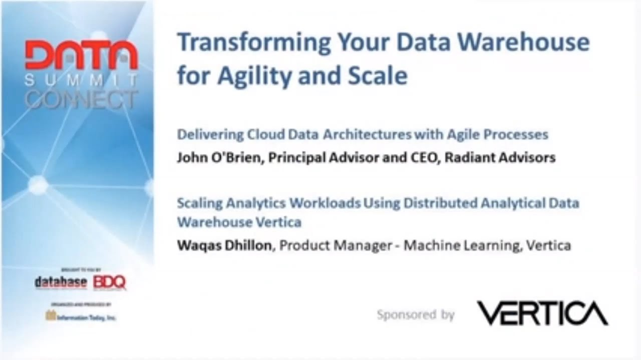 Download WED2. Transforming Your Data Warehouse For Agility And Scale