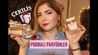 Pudra kokulu kadın parfümleri