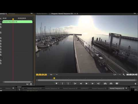 GoPro Lens Correction in Premiere Pro CC 2014