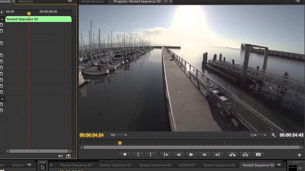 GoPro Lens Correction in Premiere Pro CC 2014   FunnyDog.TV