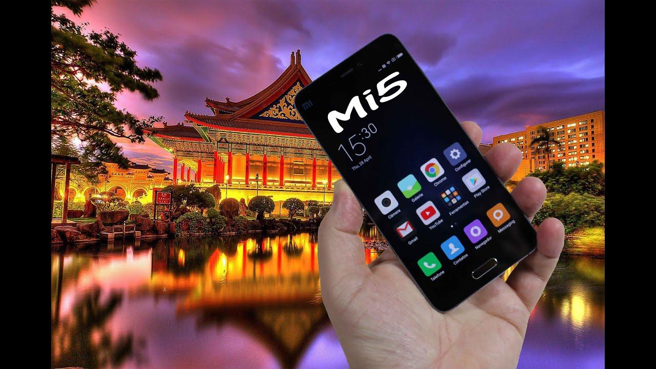 NOVO Smartphone Xiaomi Mi5 Review em português!