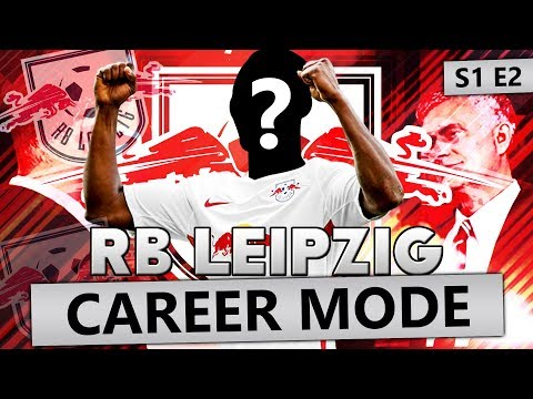SIGNING A FUTURE SUPERSTAR!!! FIFA 18 CAREER MODE RB LEIPZIG #2