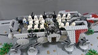 The Battle of Mantessa (p2) - Lego starwars stop motion (brickfilm)