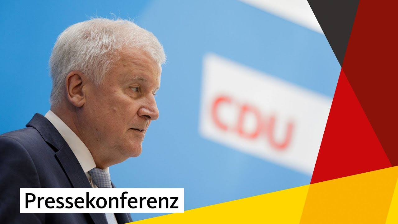 Regierungsprogramm 2017-2021: Horst Seehofer - YouTube