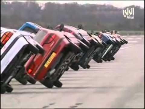 Biểu diễn ô tô chạy bằng 2 bánh -- Công ty TNHH Ôtô Đại Đô Thành