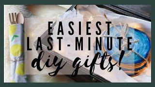 3 EASY LAST MINUTE DIY GIFTS! …