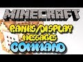 Minecraft Xbox One Command Block Server Ranks/Display Messages Tutorial