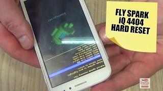 Fly Spark IQ4404  как снять блокировку, форматирование, hard reset, не загружается
