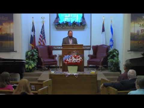 Sunday Evening Service 7-23-2017