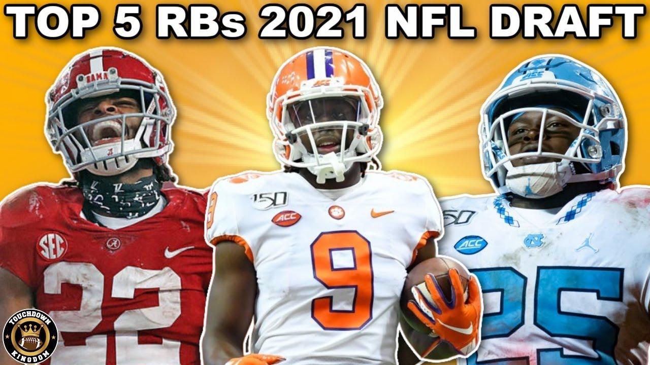 Top 5 Running Backs 2021 NFL Draft