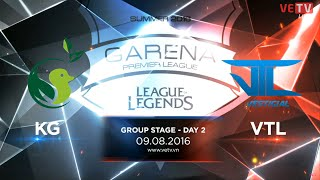 09082016 highlight kg vs vtl gpl summer 2016 day 2