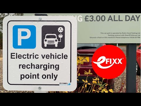 Workplace and public EV charger installation - helping to reduce range anxiety