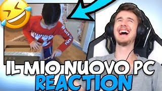 IL MIO NUOVO COMPUTER DA GAMING!! - Reaction