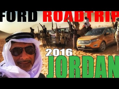 ROBBING a TRAIN in Jordan...in a FORD pickup!