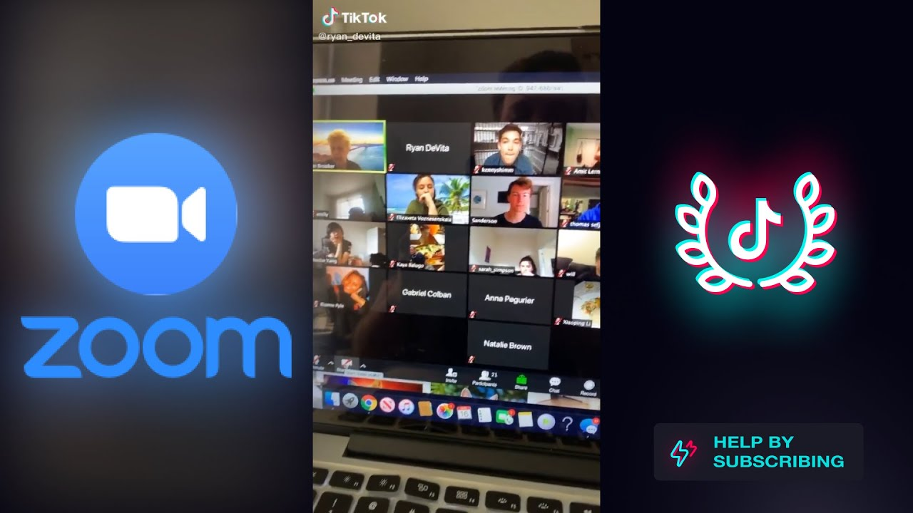 Funny Tiktok Zoom And Online Class Compilation Zoom Class Funny Moments And Fails Youtube