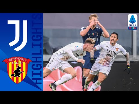 Juventus Benevento Goals And Highlights