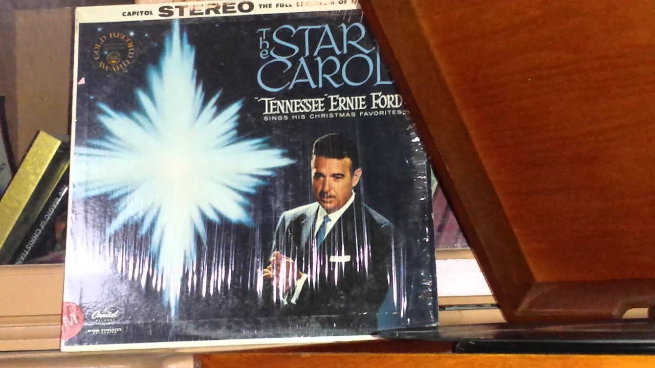 Tennessee Ernie Ford Oh Holy Night Star Carol Youtube