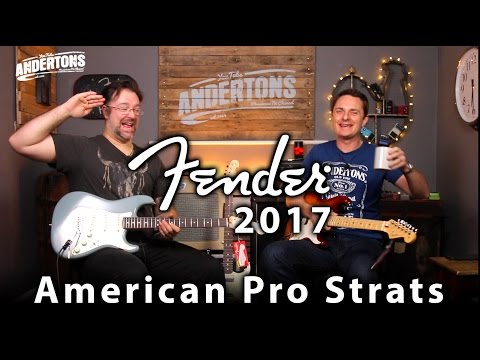 Fender American Professional Series Strats - Lets Rock!!
