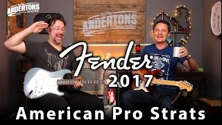 Fender American Professional Series Strats - Lets Rock!! Video