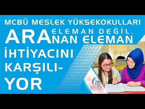 Aradığın Meslek Manisa Celal Bayar Üniversitesi Meslek Yüksekokullarında Seni Bekliyor