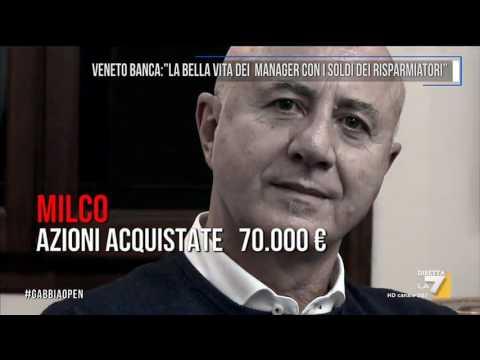Veneto banca: 'La bella vita dei manager con i soldi dei risparmiatori'