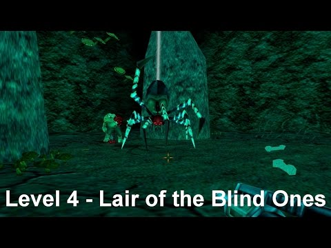 Turok 2 - Seed of Evil: Level 4 - Lair of the Blind Ones (Sp
