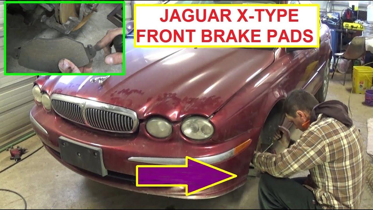 When To Replace Brake Rotors >> Jaguar X-TYPE Front Brake Pads Replacement How to Replace the front brakes on Jaguar X TYPE ...